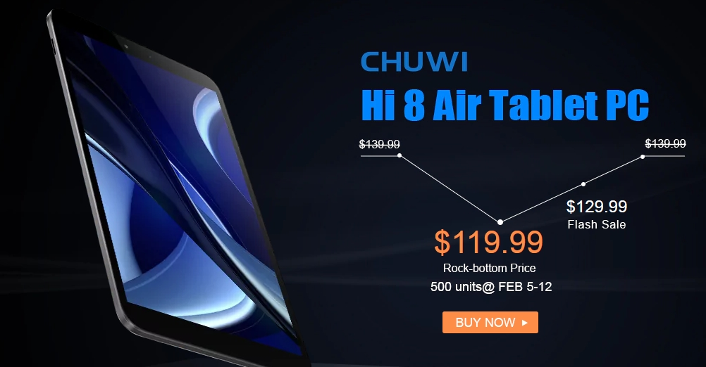 chuwi hi 8 air